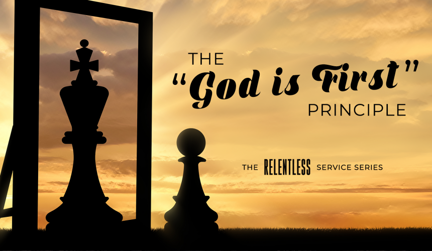 The God Is First Principle Part 3